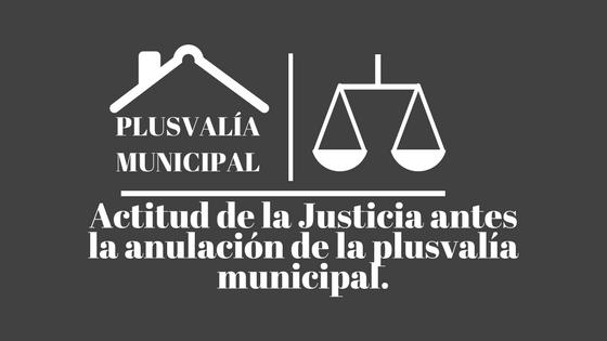anulación de la plusvalía municipal