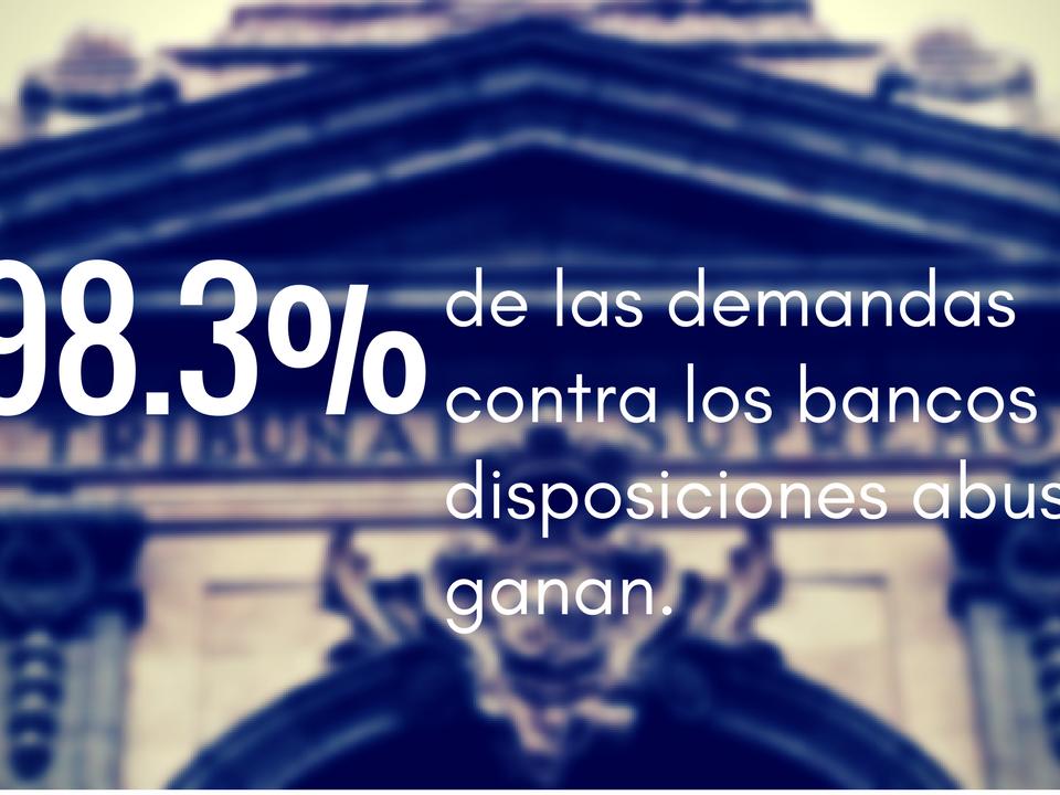 Demandas Contra los Bancos
