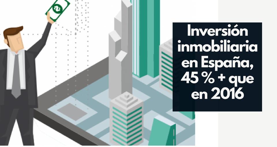 Inversión Inmobiliaria en España